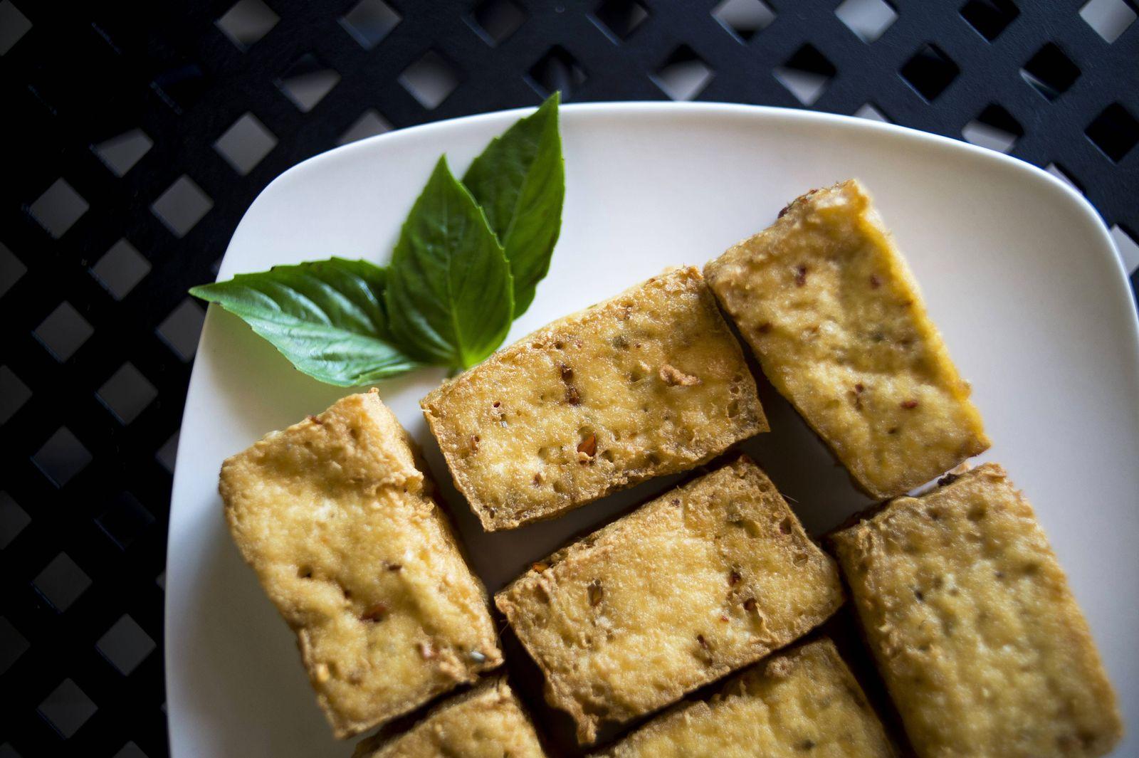 EINMALIGE VERWENDUNG Tofu