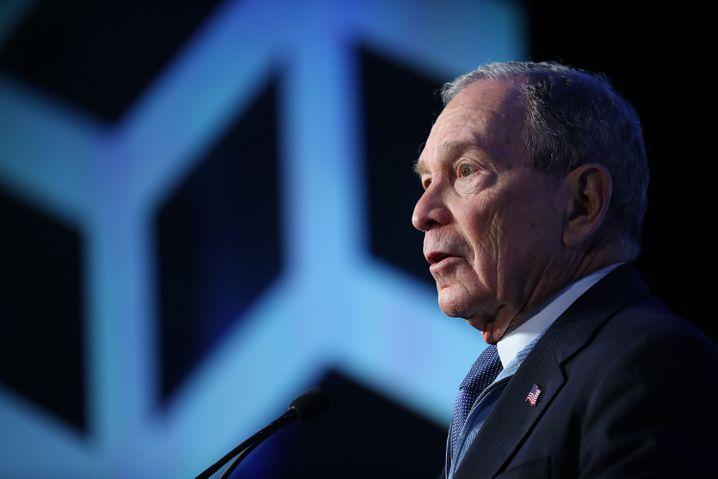 Wind aus den Segeln genommen: Mike Bloomberg am Samstag in North Carolina