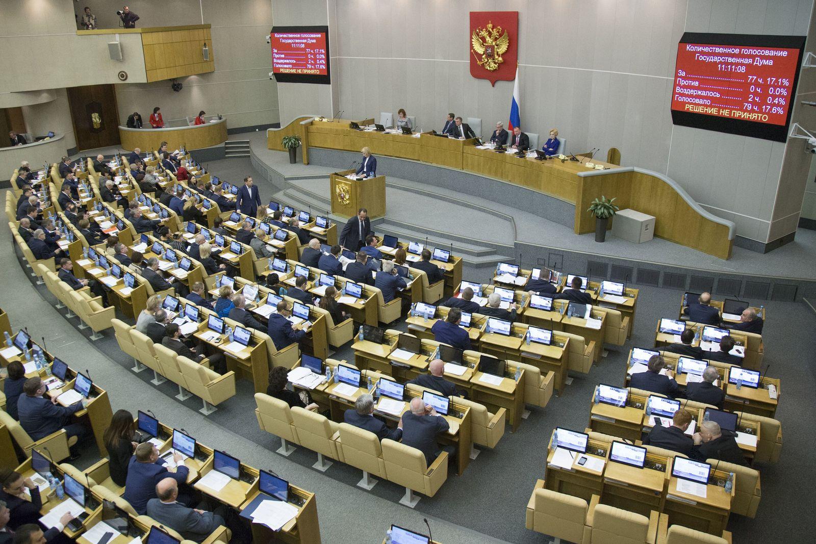 Russland / häusliche Gewalt / Duma