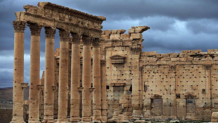 IS-Verwüstungen in Palmyra: Systematische Zerstörung