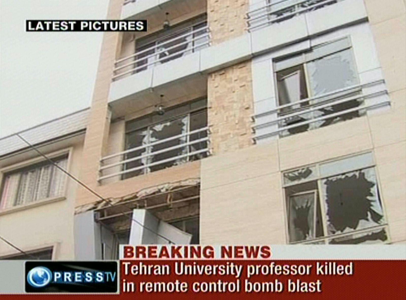 Iran/ Anschlag Atomforscher
