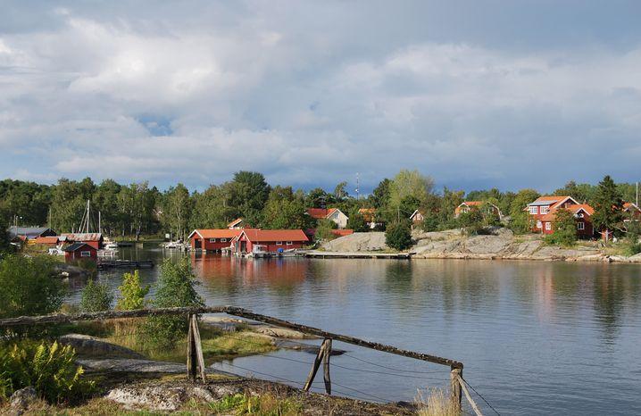 Schären vor den Toren Stockholms