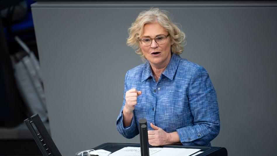 Bundesjustiz- und Bundesfamilienministerin Christine Lambrecht: »Das ist besonders schade«