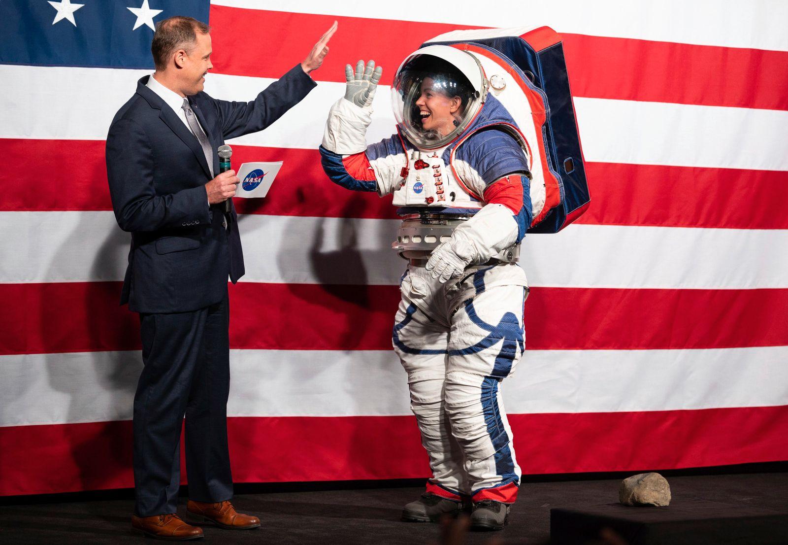 NASA Announces Artemis EMU Spacesuit and Orion Crew Survival System Suit