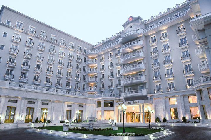 Grand Hotel Palace: 100 Festangestellte und 265 Betten
