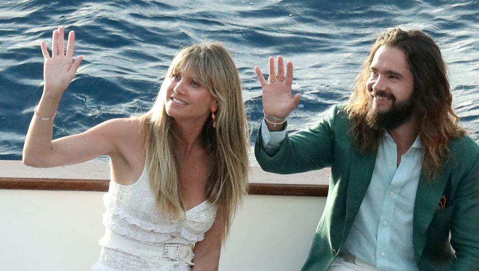 """Heidi Klum und Tom Kaulitz (Archivbild): """"Der Hochzeitstag ist ohne Frage einer der wunderschönsten Tage"""""""