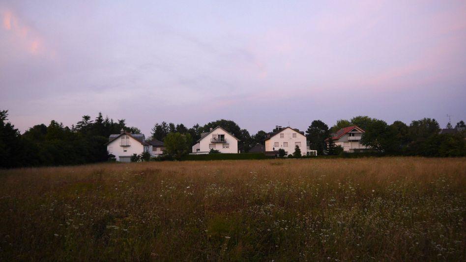 Für Bauprojekt vorgesehene Fläche in München-Allach