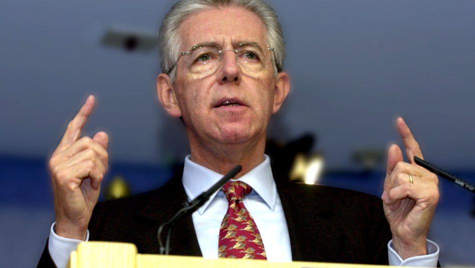 Mario Monti (Archivbild): Von Italiens Staatspräsident Napolitano geehrt