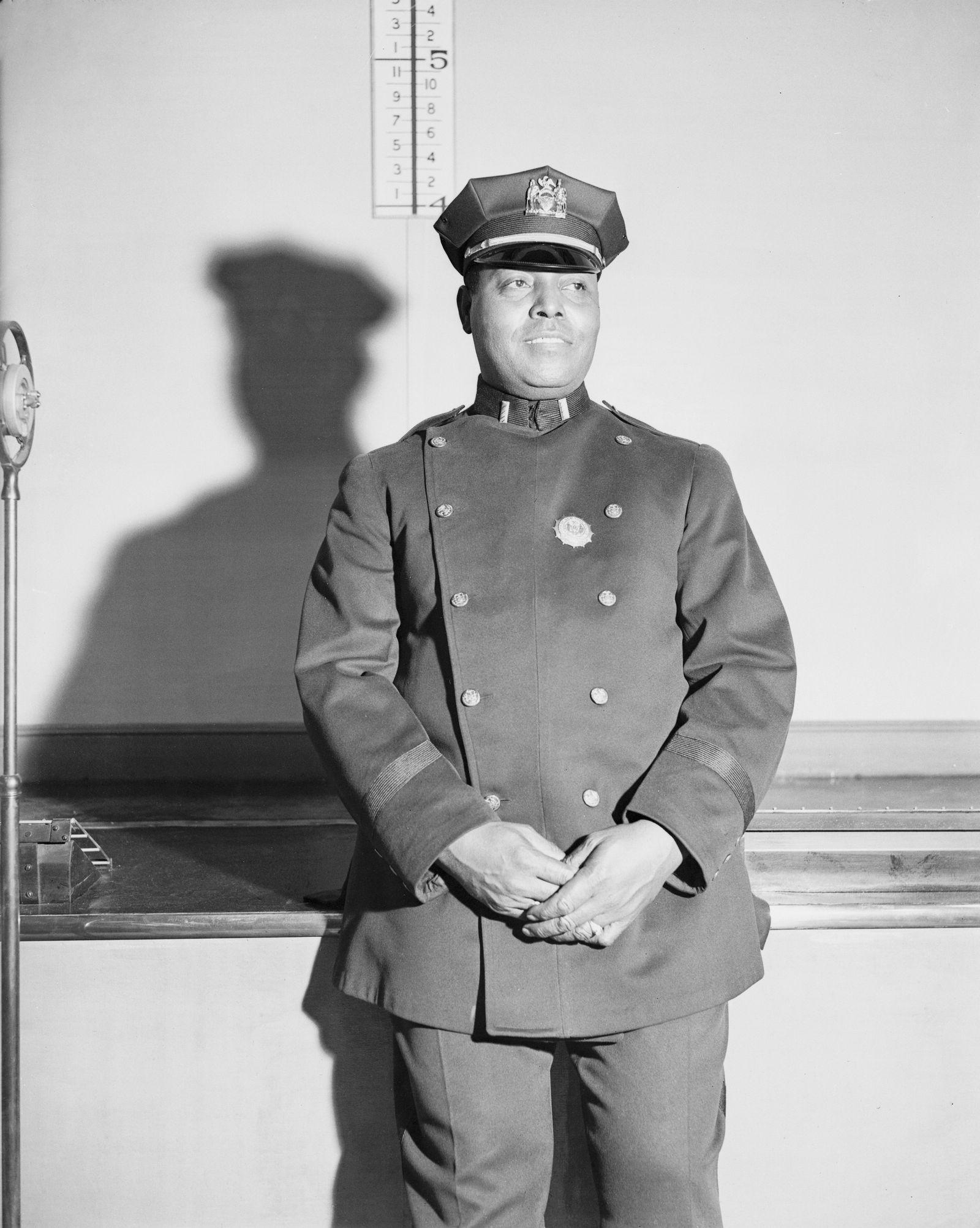 Portrait of Samuel Battle