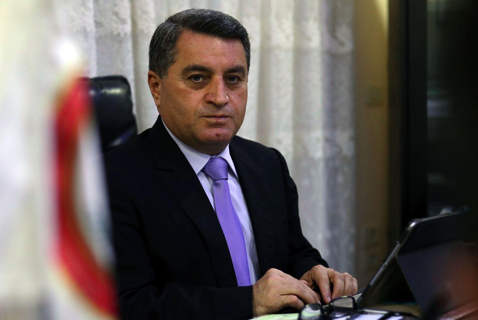 Abel Karim Omar/ kurdischer Ausßenminister