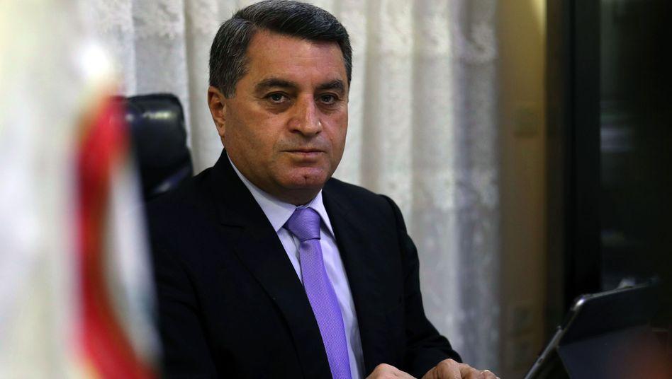 Abdel Karim Omar, kurdischer Beauftragter für Außenpolitik