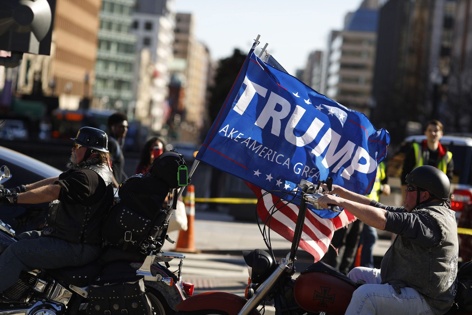 """US-PROTESTORS-HOLD-""""NOT-MY-PRESIDENTS-DAY""""-RALLY-IN-WASHINGTON"""