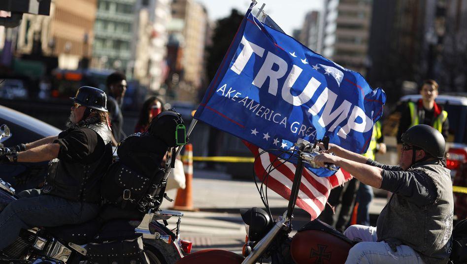 Pro-Trump-Demonstration
