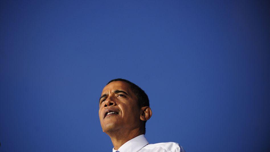 Barack Obama: Gleich im ersten Amtsjahr als US-Präsident bekommt er den Friedensnobelpreis.