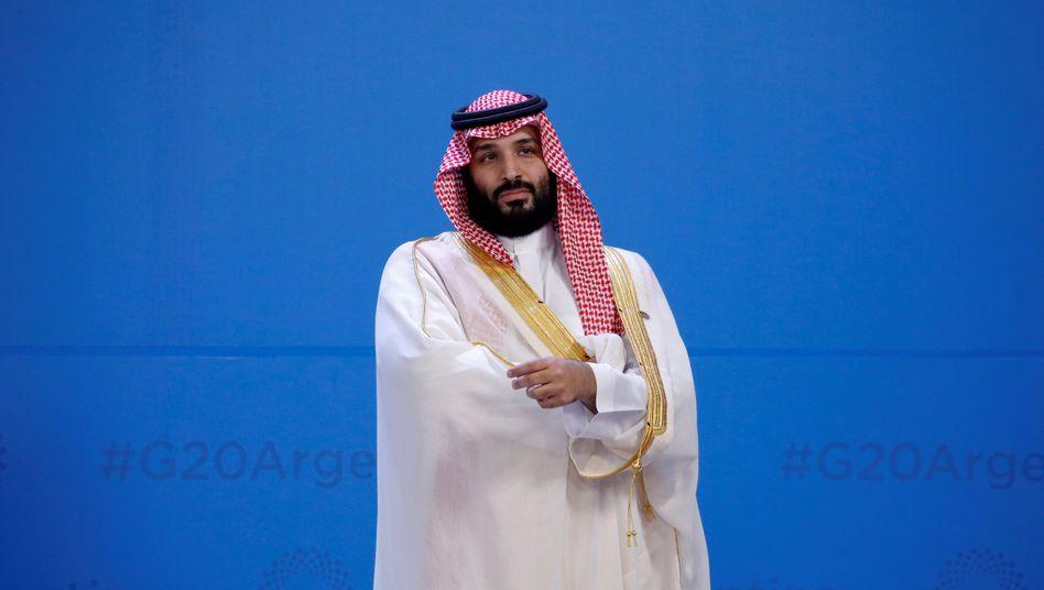 Saudischer Kronprinz Mohammed bin Salman