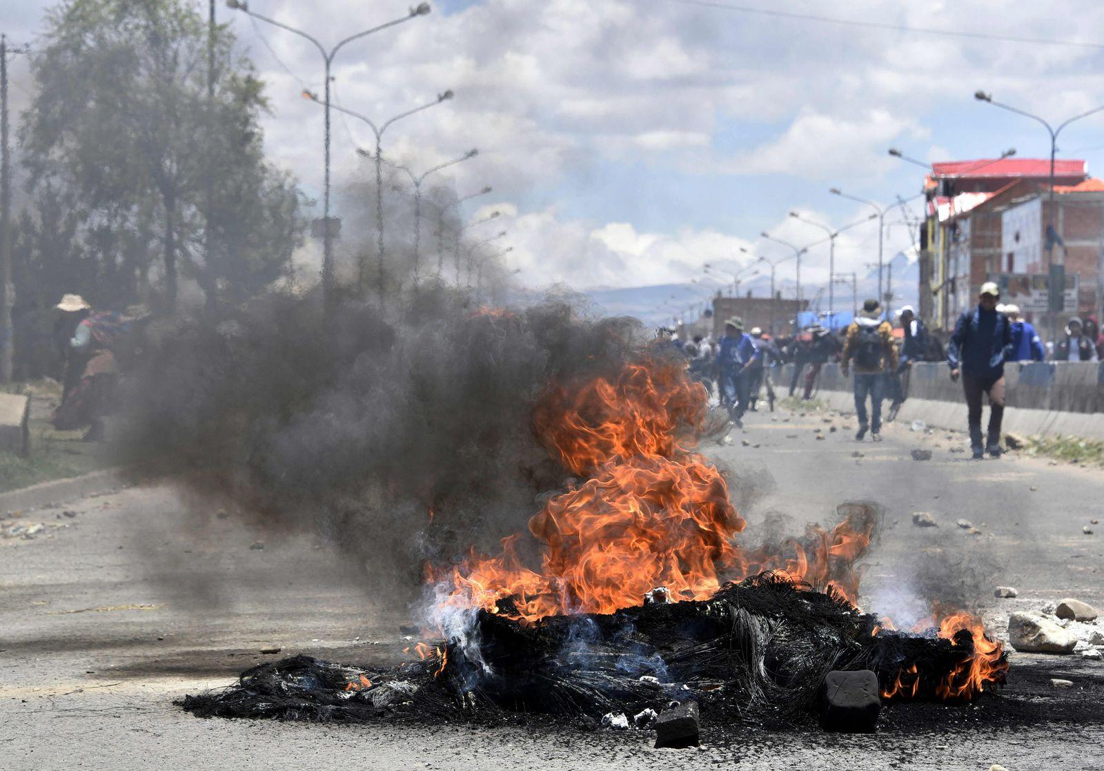 Bolivien Krise