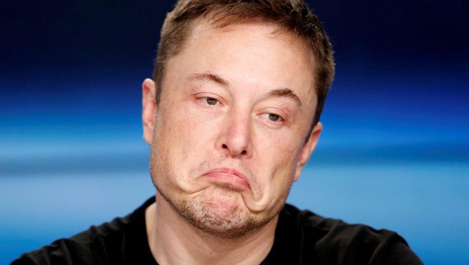 SpaceX-Gründer und Tesla-Chef Elon Musk