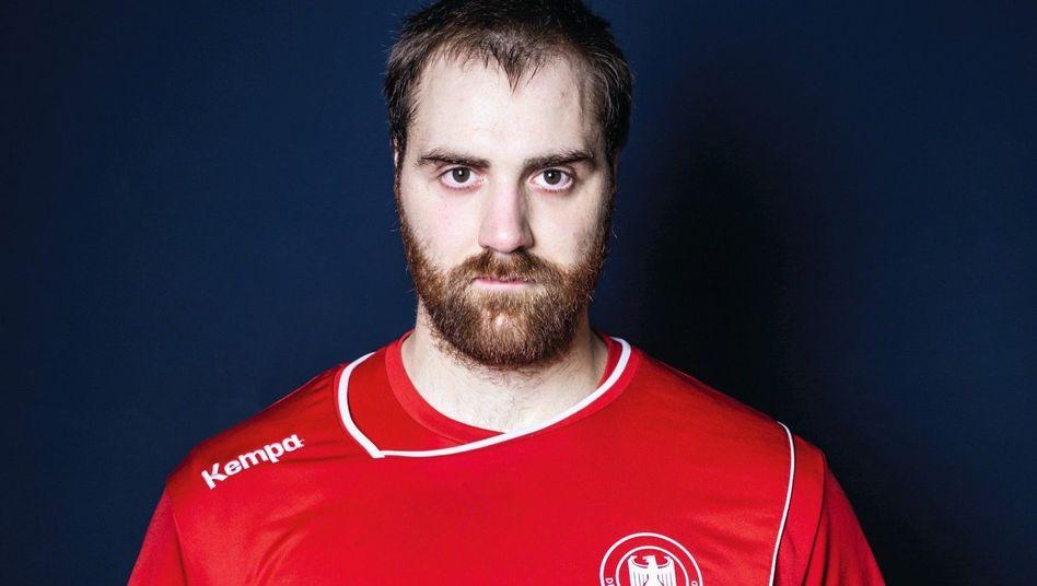 Andreas Wolff, 1,98 Meter groß, 110 Kilogramm schwer, ist Deutschlands Handballtorwart Nummer eins