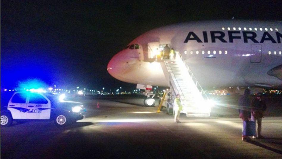 Air-France-Maschine von Los Angeles in Salt Lake City: Das FBI untersuchte das Flugzeug