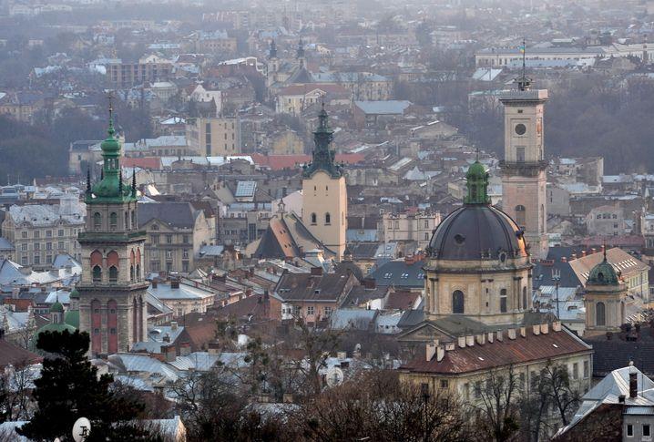 Stadtansicht von Lemberg