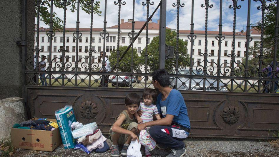 """Flüchtlinge in Traiskirchen: """"Versagen der österreichischen Politik"""""""
