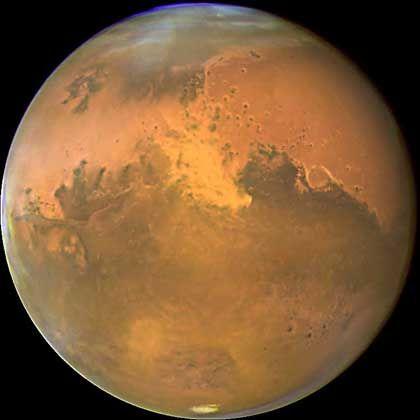 Mars: Neben den Amerikanern wollen auch die Russen Menschen zum Roten Planeten schicken