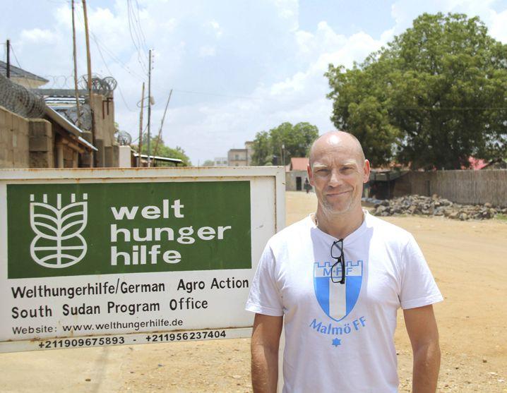 Jonas Wiahl, Leiter der Welthungerhilfe im Südsudan: Plus von sieben Millionen Euro