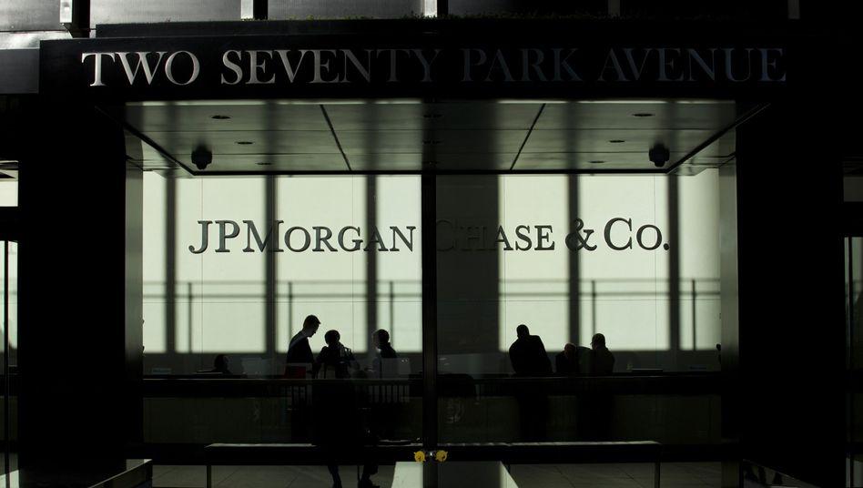 Zentrale von JP Morgan: Brisante Protokolle