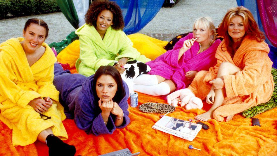 Die Spice Girls in ihrem Film »Spice World« von 1997