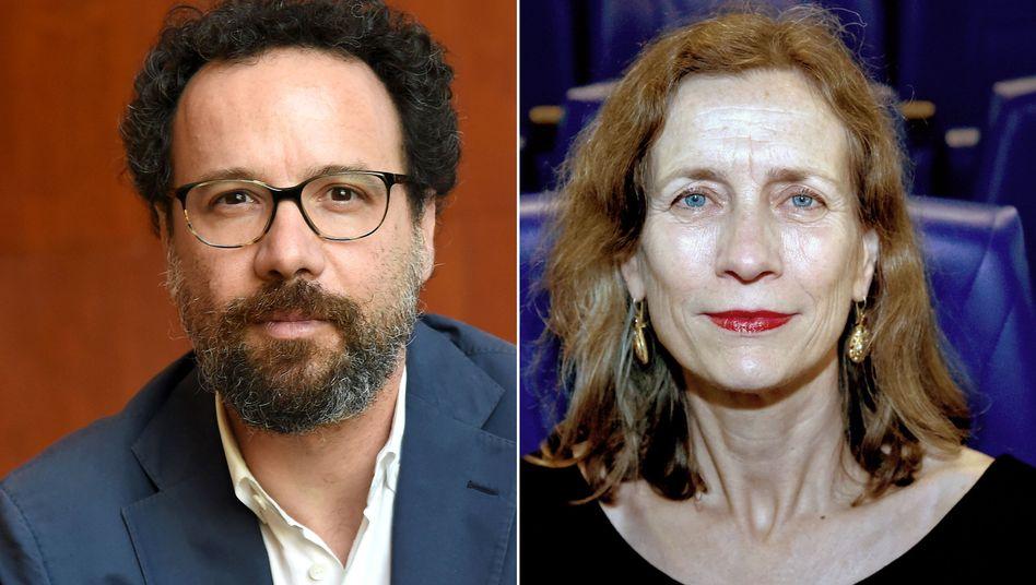 Carlo Chatrian und Mariette Rissenbeek