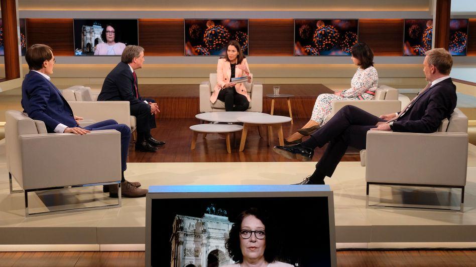 """Anne Will mit Gästen: """"Verunsicherung der Bevölkerung durch unterschiedliche Aussagen"""""""