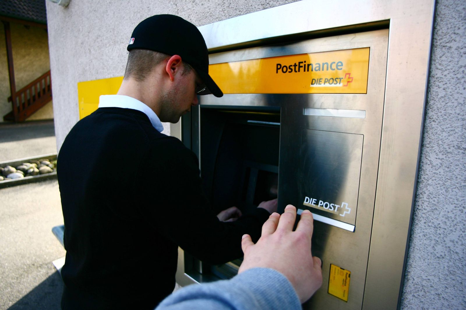 EINMALIGE VERWENDUNG schweizer bank postfinance