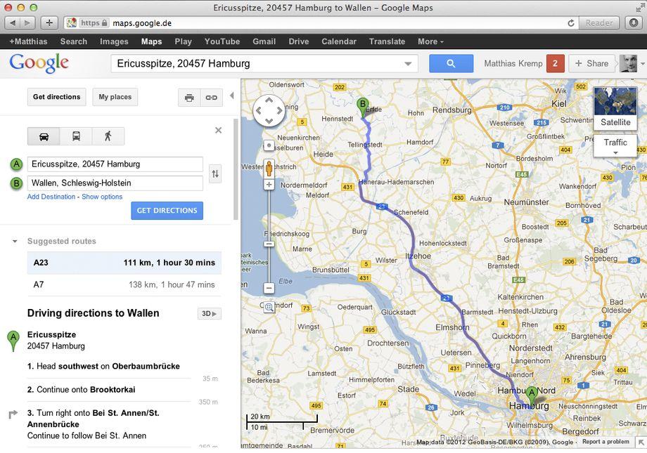Routenplaner öffentliche Verkehrsmittel Berlin