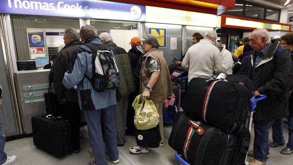 Regimesturz: DeutscheTouristen fliehen aus Tunesien