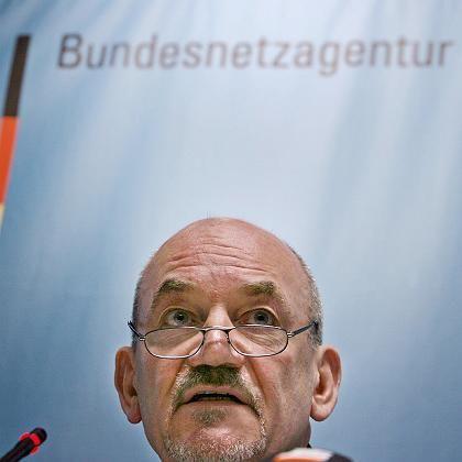 """Der Präsident der Bundesnetzagentur, Matthias Kurth: """"Der Knoten ist geplatzt"""""""