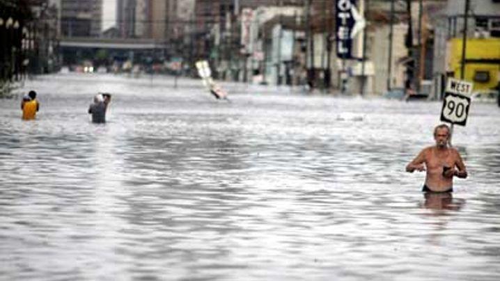 Hurricane Katrina: A City under Water