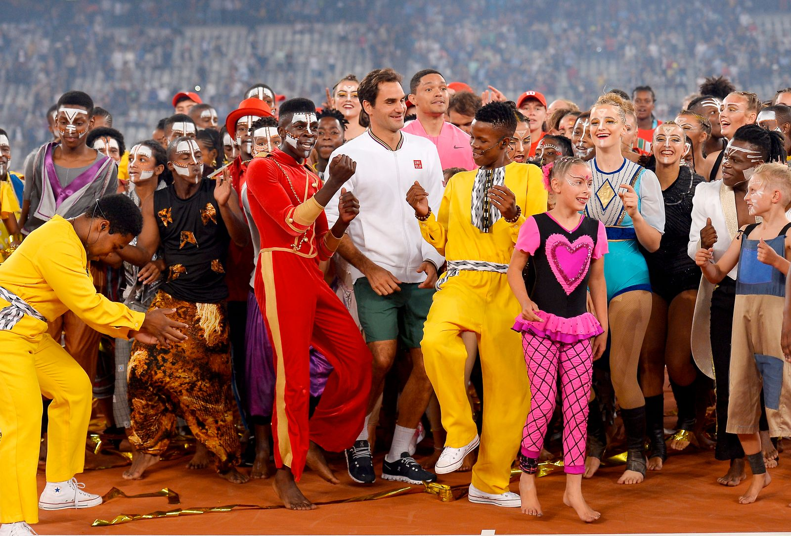 The Match in Africa: Roger Federer v Rafael Nadal