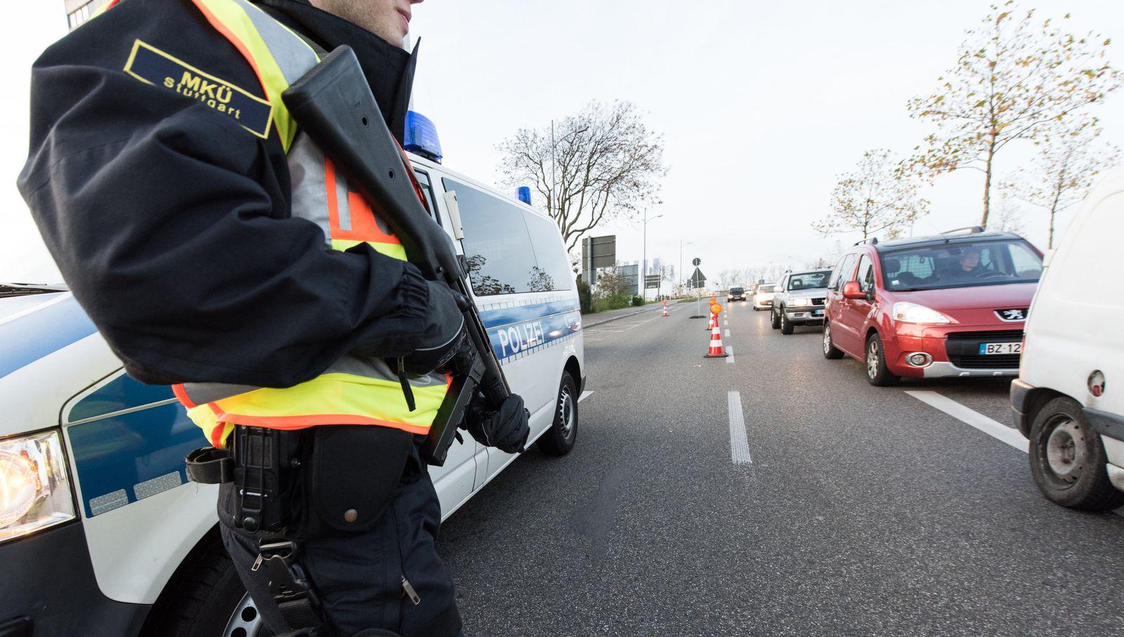 Deutschland/ Baden-Württemberg/ Polizei/ Bundespolizei/