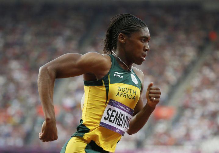 Südfrikas Mittelstreckenläuferin Caster Semenya
