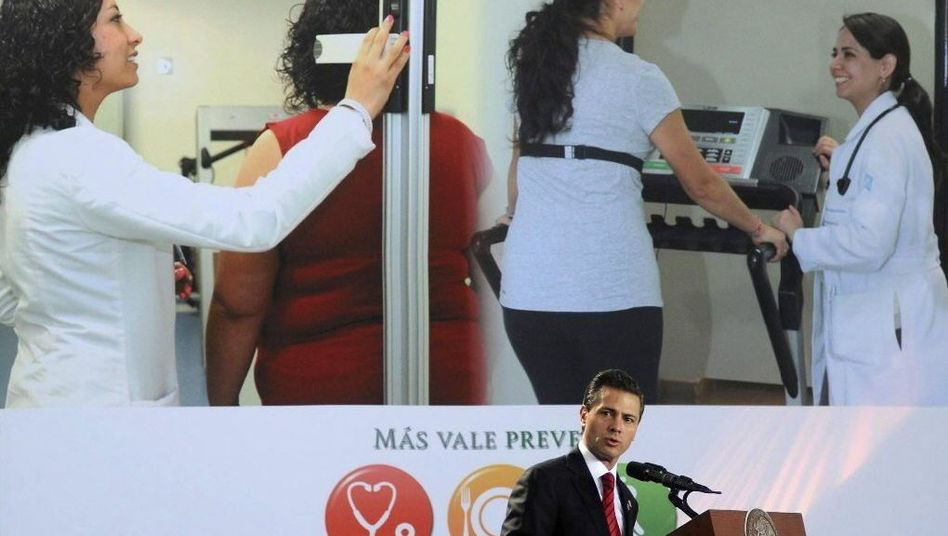 Mexikos Präsident Nieto: Steuer auf Burger, Süßigkeiten und Getränke