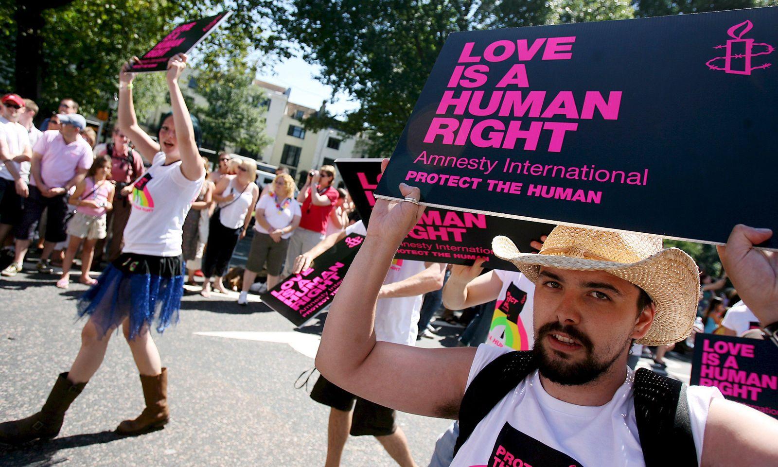 Schwulenparade/ Brighton