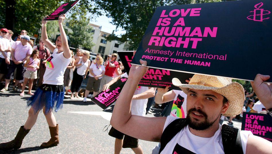 Gay-Pride-Parade in Brighton: Die schlimmste Bedrohung seit 500 Jahren?