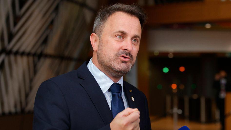 Xavier Bettel auf dem EU-Gipfel Ende Juni in Brüssel. Kurz nach dem Treffen wurde Luxemburgs Premier positiv auf Corona getestet
