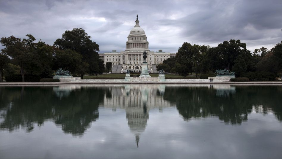 Kapitol in Washington: Nächste Runde im US-Haushaltsstreit