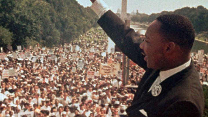 """Martin Luther King in Washington: """"Wir mussten und wollten weitermachen"""""""