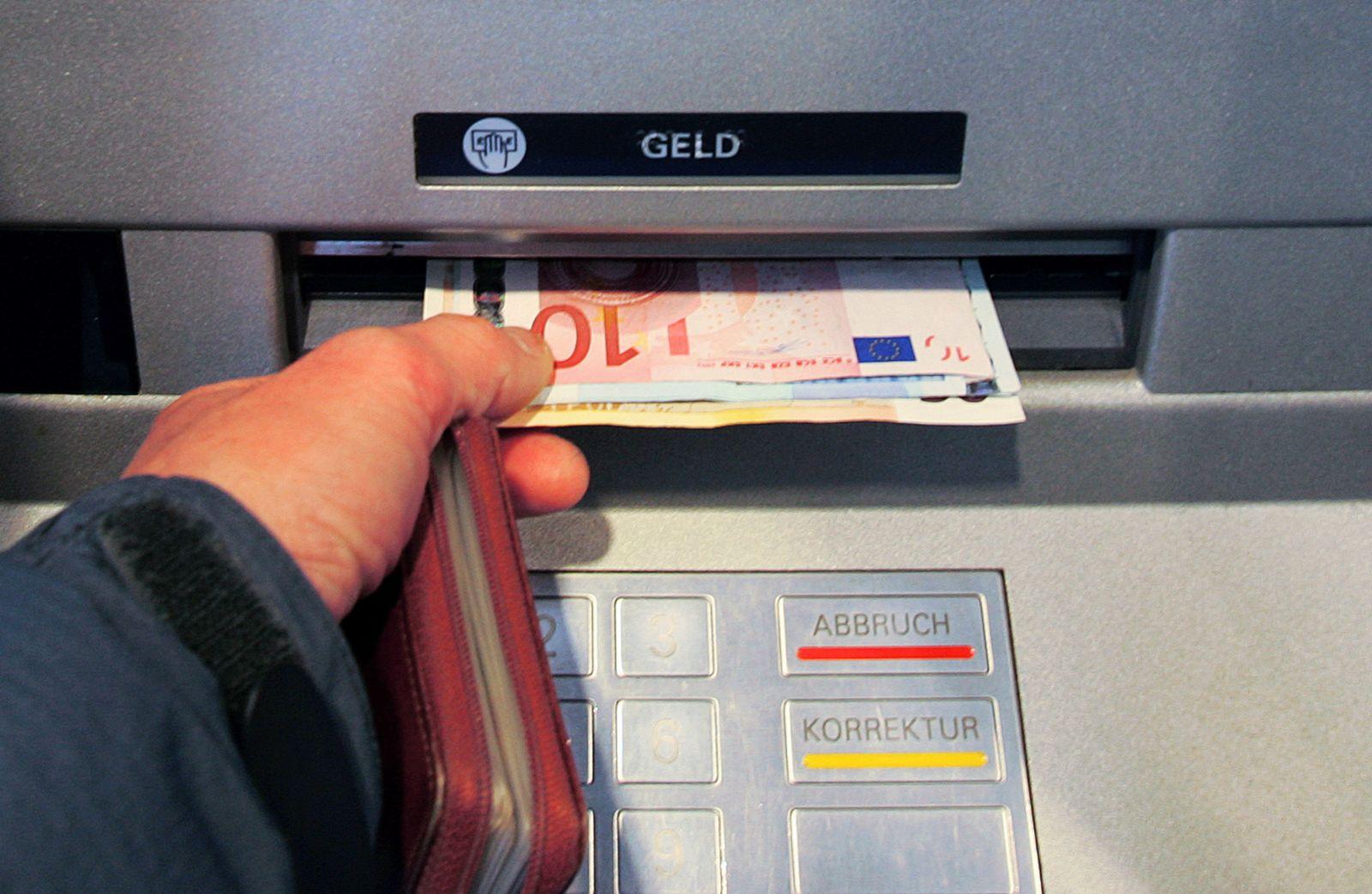 Geldautomat/ Girokonto für jeden