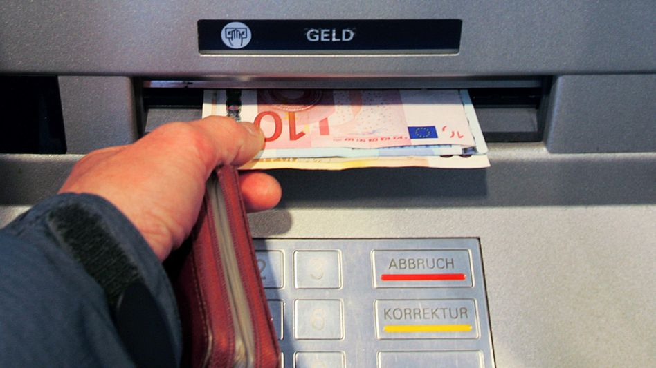 Geldautomat in Berlin-Mitte