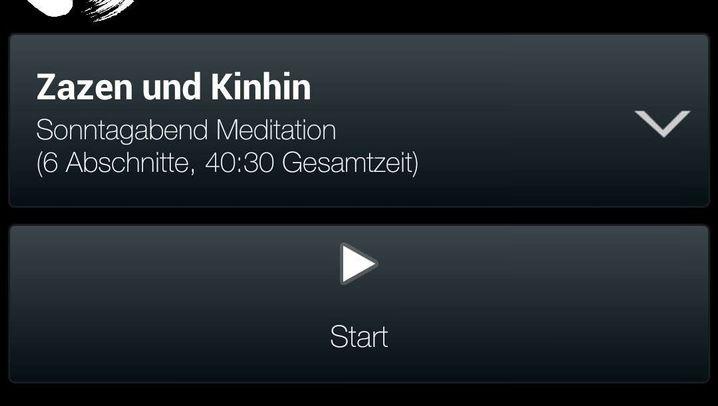 """App """"Zazen Meditation Timer"""": Meditieren wie die Profis"""