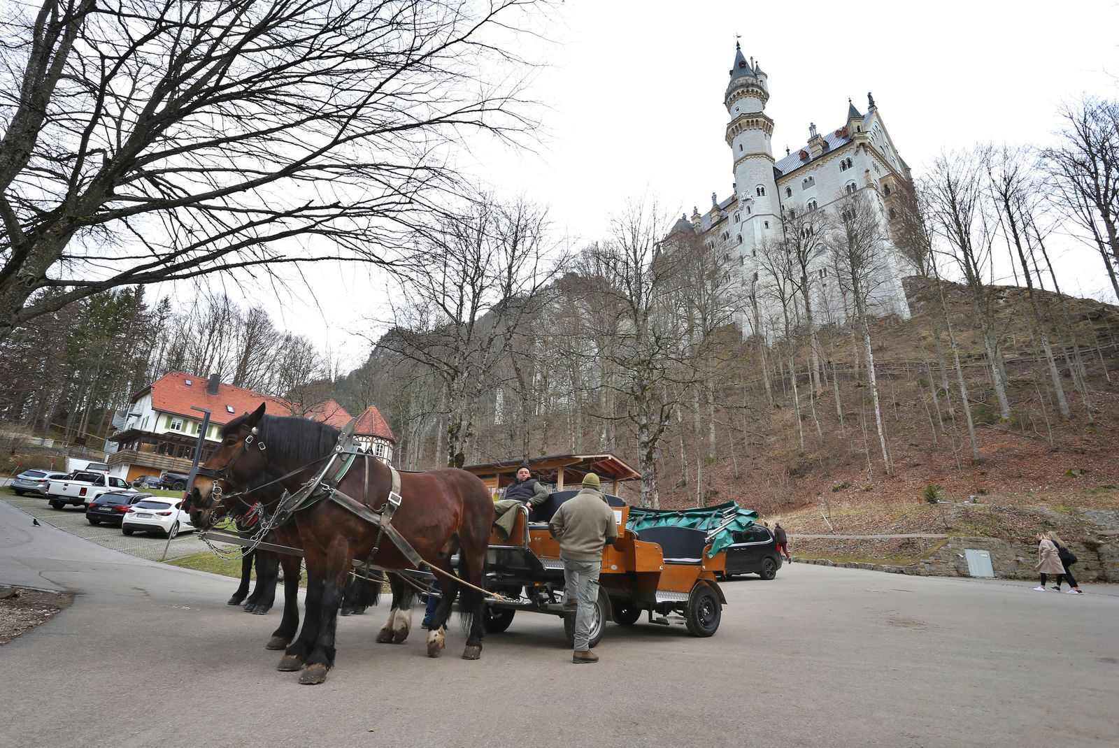 Coronavirus - Schloss Neuschwanstein