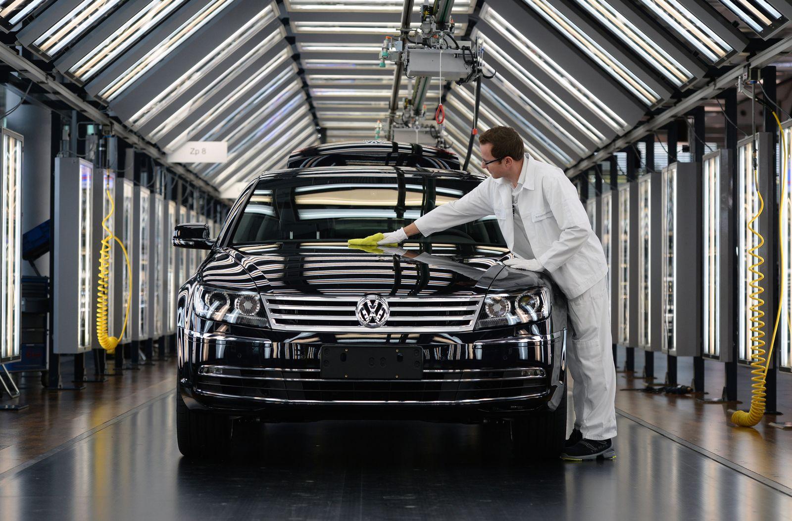 VW Phaeton / VW-Baustellen